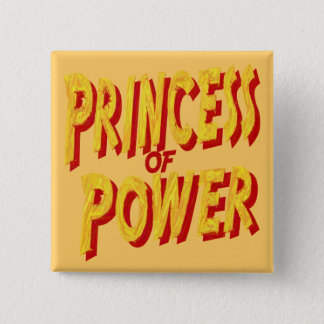 Princess Of  Power-Button Button