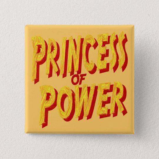 Princess Of  Power-Button Button