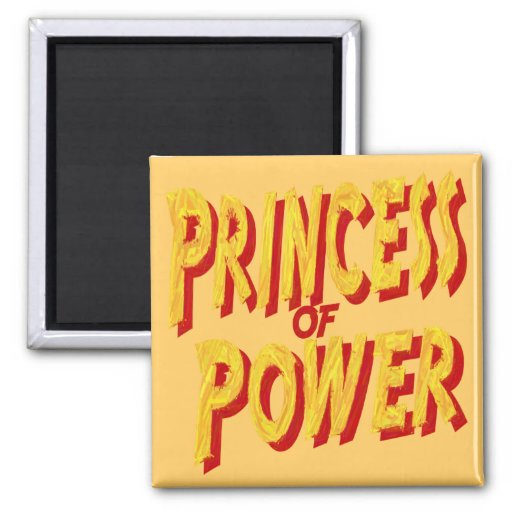 Princess Of  Power-Magnet 2 Inch Square Magnet