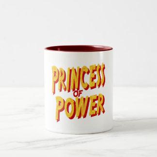 Princess Of  Power-Mug Two-Tone Coffee Mug