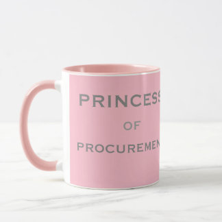 Princess of Procurement Special Female Woman Name Mug