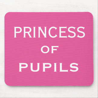 Princess of Pupils Special Female Teacher Name Mouse Pad