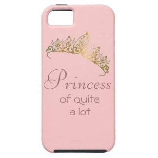 Princess of Quite A Lot iPhone Case iPhone 5 Case