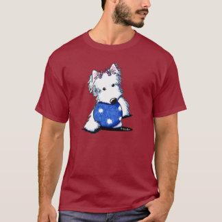 Princess Of The Ball Westie T-Shirt