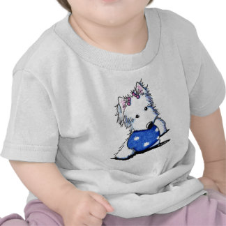 Princess Of The Ball Westie T-shirts