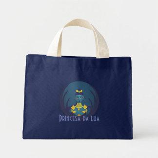 Princess of the moon mini tote bag