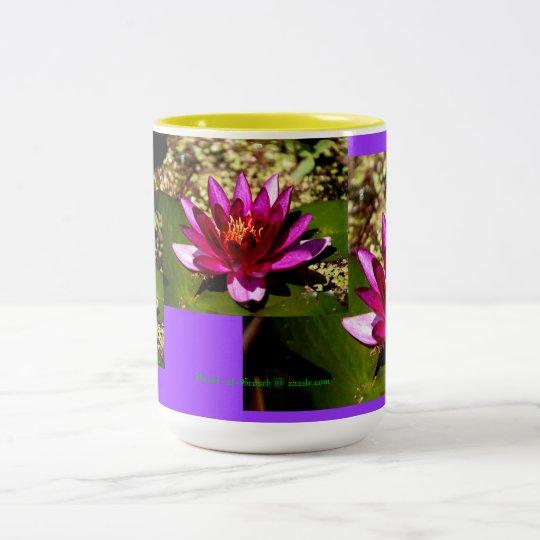 Princess of the Pond Design Two-Tone Coffee Mug