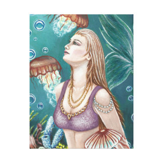 Princess of the Sea Canvas Gallery Wrap Canvas