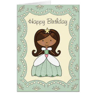 Princess of the Valley Birthday Card