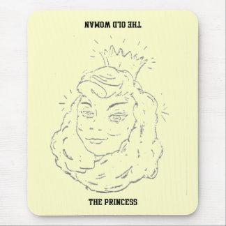 Princess/Old Woman Mousepad