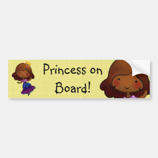 Princess on Board customisable sticker