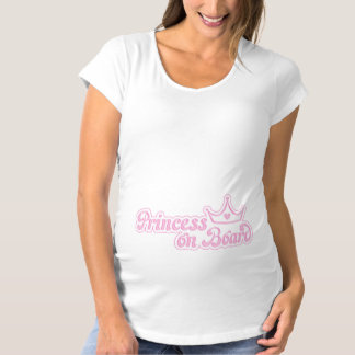 Princess on Board Maternity T-Shirt