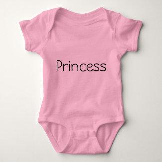 Princess onsie baby bodysuit