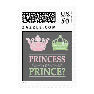 Princess Or Prince Gender Reveal Party Postage
