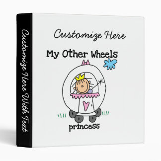 Princess Other Wheels 3 Ring Binder