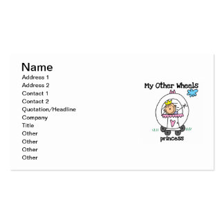 Princess Other Wheels Business Card