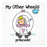 Princess Other Wheels Invites