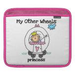 Princess Other Wheels iPad Sleeve