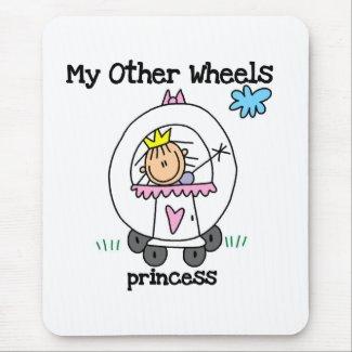 Princess Other Wheels mousepad