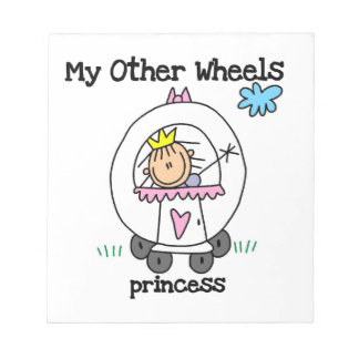 Princess Other Wheels Notepad
