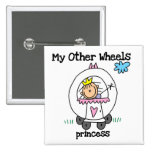 Princess Other Wheels Pinback Buttons