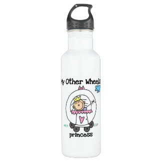 Princess Other Wheels Stainless Steel Water Bottle