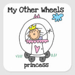 Princess Other Wheels Stickers