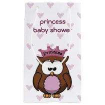 princess owl  baby shower gift bag