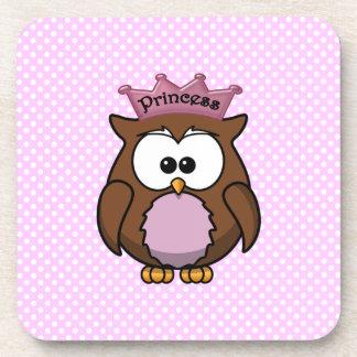 Princess owl coasters