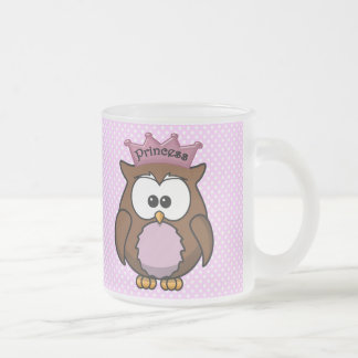 Princess owl coffee mug