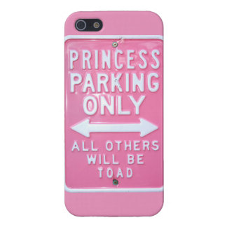 Princess parking only case for iPhone SE/5/5s