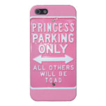 Princess parking only iPhone 5 cases