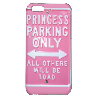 Princess parking only iPhone 5C covers