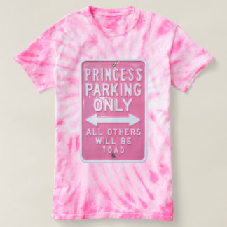 Princess parking only t-shirt