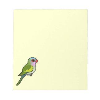 Princess Parrot Memo Pad