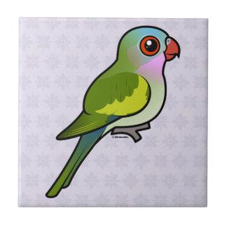 Princess Parrot Small Square Tile