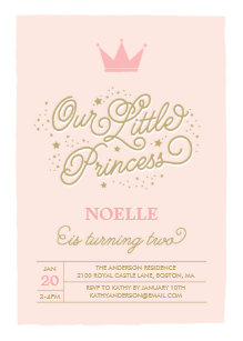 Princess Party 2nd Birthday