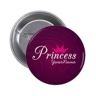 Princess Party Button