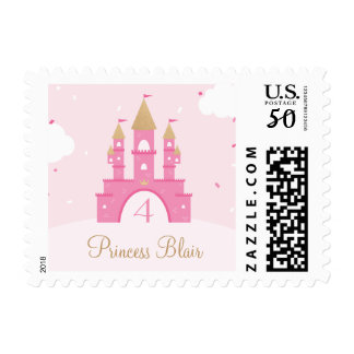 Princess Party Custom Postage Stamps