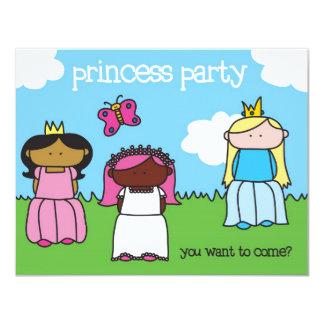 Princess Party - Invitation