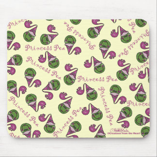 Princess Pea Mouse Pad