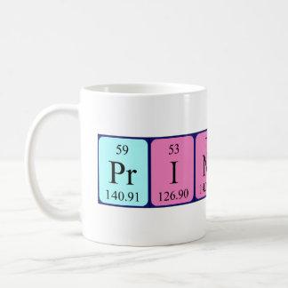 Princess periodic table name mug