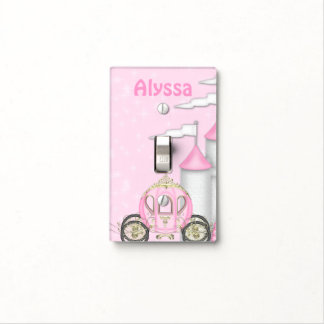 Princess Personalized Light Switch Covers