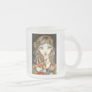 Princess Phoebe and Theodore the Great Frosted Glass Coffee Mug