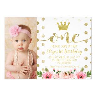 Princess Birthday Invitations Announcements Zazzle
