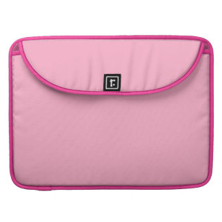 Princess Pink Girly Pastel Pink Only Color Pink Sleeves For MacBooks