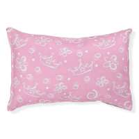 Princess Pink Small Dog Bed
