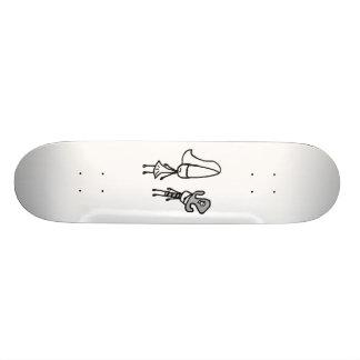 Princess & Pirate Doodle Skate Board Decks