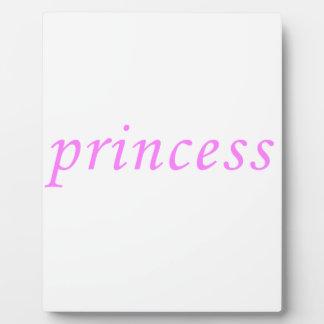 Princess Display Plaques