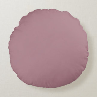 Princess Plum in an English Country Wedding Round Pillow
